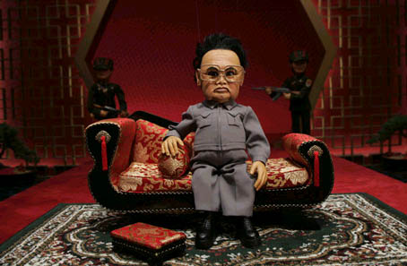 Kim Jong-Il, so ronery. (From the movie Team America: World Police)